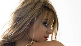 Tina O&#8217;brien Looking Back And Back Pose Photoshoot